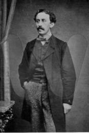 Charles Emil Messmann i år 1900 - ca. 34 år gl. - søn af Emilie Florentine og Adolph J. Messmann