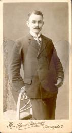 Georg Ludvig Messmann, ungdomsbillede 1874-1927