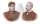 Anna Johanne Jacobine og Hans Fr. Sophus Correll - ungdomsbillede